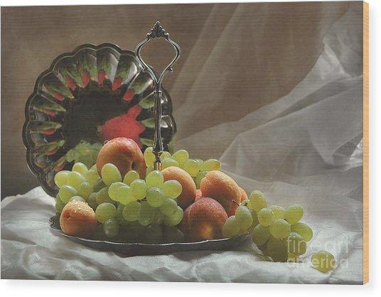 Fruits Wood Print by Irina No