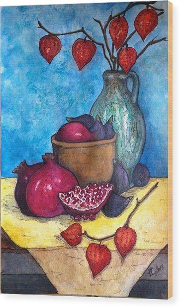 Fruits Of Season  Wood Print