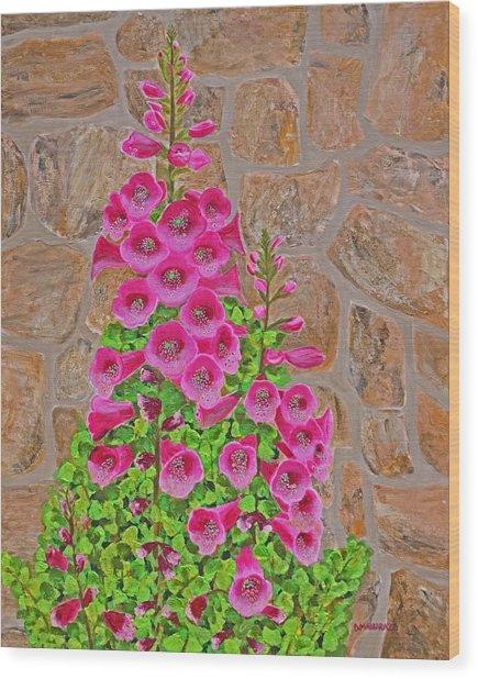 Fuchsia Profusion Wood Print