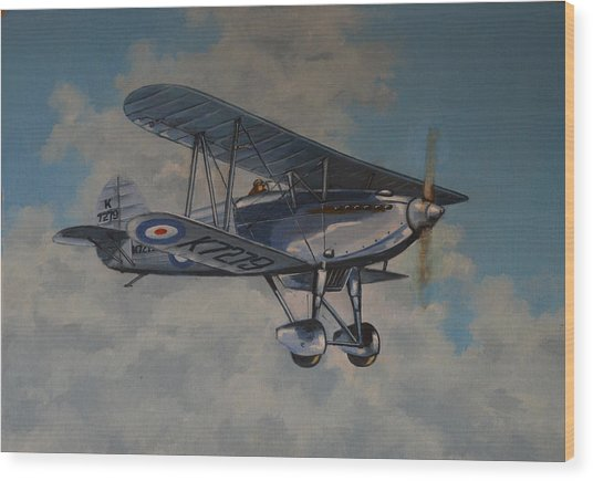 Fury II Raf Wood Print