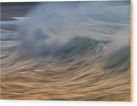 Fury Wave Wood Print