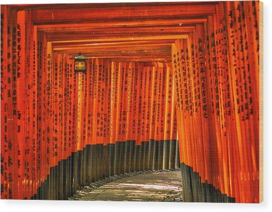 Fushimi Inari Wood Print
