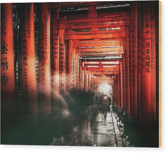 Fushimi Inari Shrine Wood Print