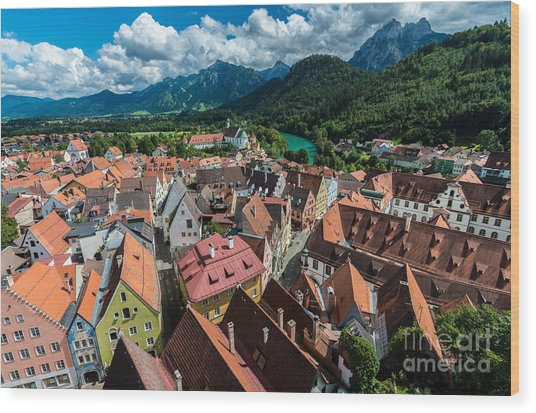Fussen - Bavaria - Germany Wood Print