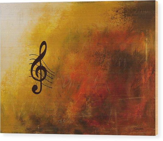 G Symphony Wood Print