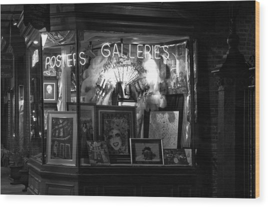 Gallery On Royal Street Wood Print