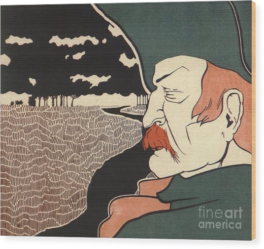 Galloping Dick Frank Hazenplug Wood Print by Unknown