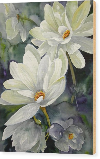 Garden Beauty Wood Print