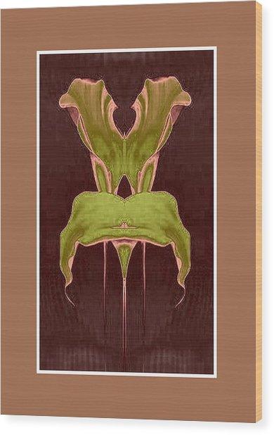 Garden Chair Wood Print