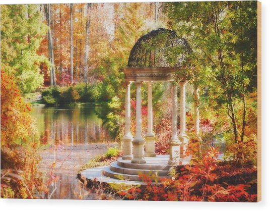 Garden Of Beauty Wood Print
