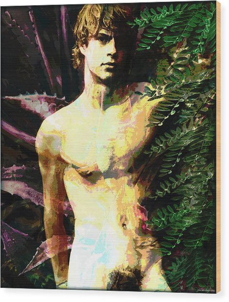 Garden Of Eden Wood Print