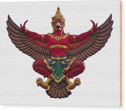 Garuda Wood Print