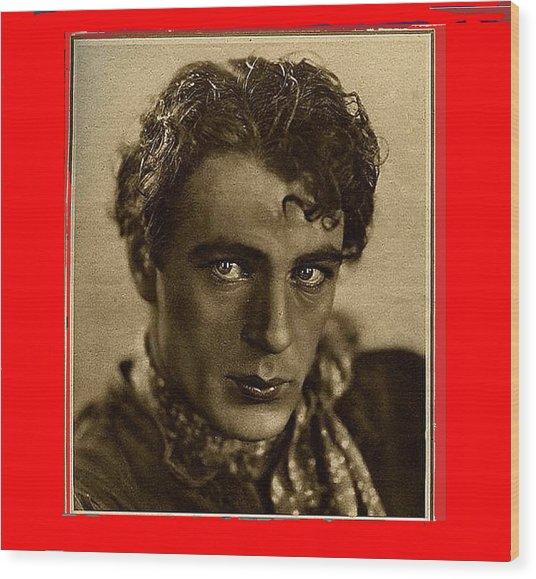 Gary Cooper Publicity Photo C.1929 #1 Wood Print