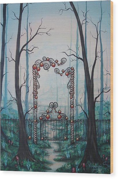 Gate Of Dreams Wood Print