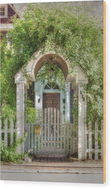 Gateway Invitation Wood Print