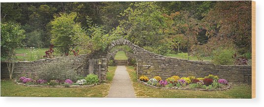 Gateway To The Garden Wood Print by Wendell Thompson