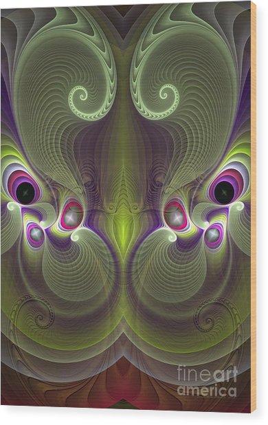 Gelsomina - Surrealism Wood Print