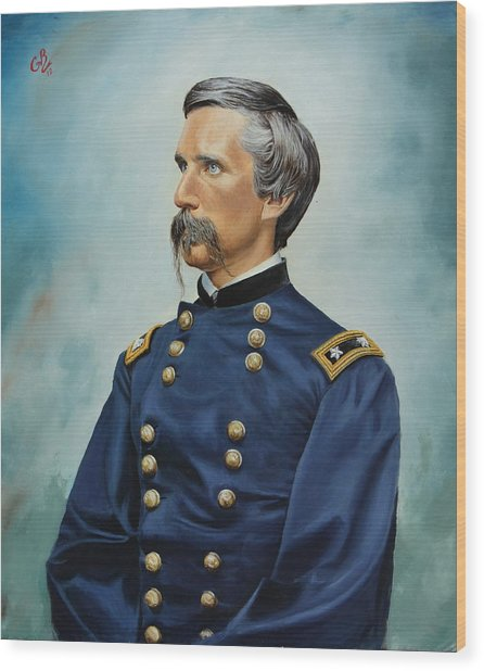General Joshua Chamberlain Wood Print