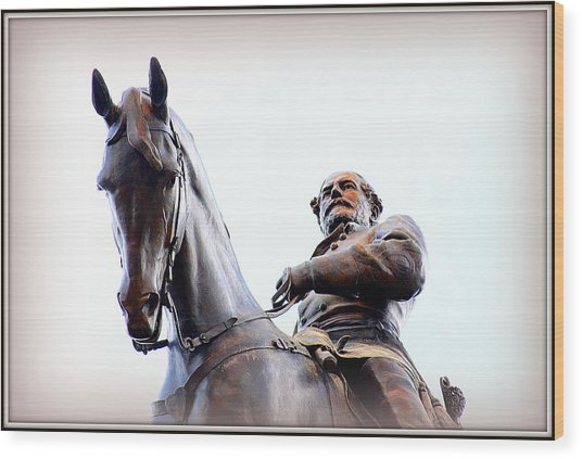 General Lee Wood Print by Greg Thiemeyer