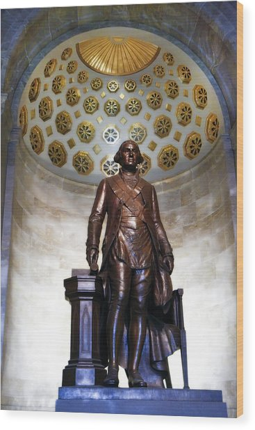 General Washington Wood Print