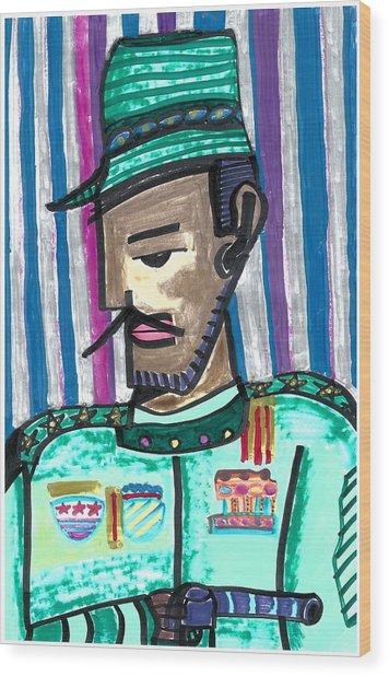 Generalissimo Diego  Wood Print