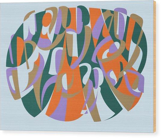 Generosity Of Spirit, 2004 Acrylic On Board Wood Print