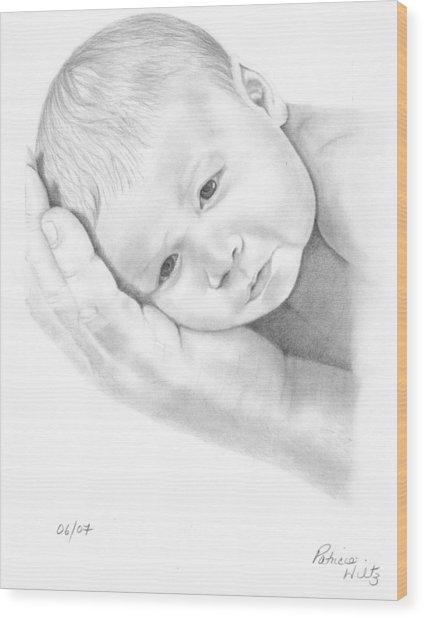 Gentle Innocence Wood Print