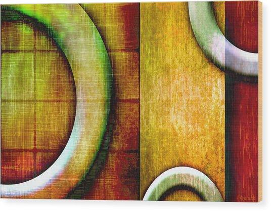 Geo Wood Print by Melisa Meyers