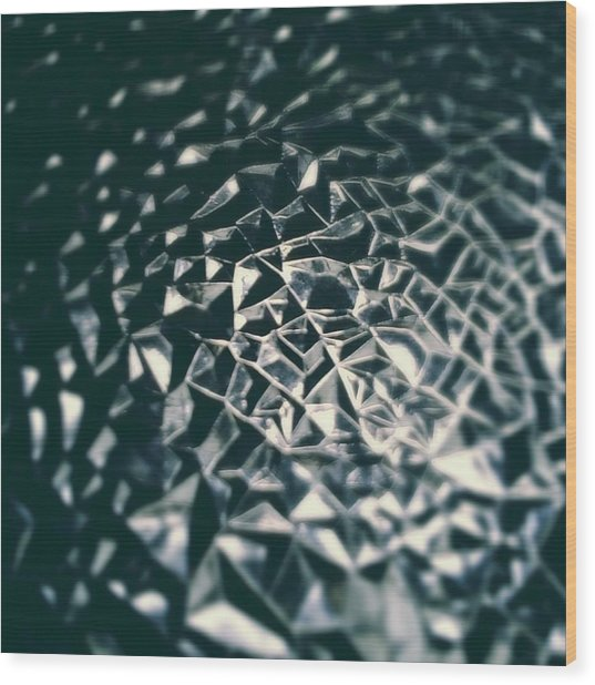 Geodesic Dunes Wood Print by Jaime Neo