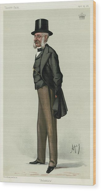 George Charles Bingham 3rd Earl Wood Print by Mary Evans Picture Library