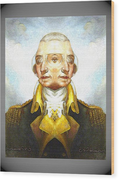 George-washington 1 Wood Print