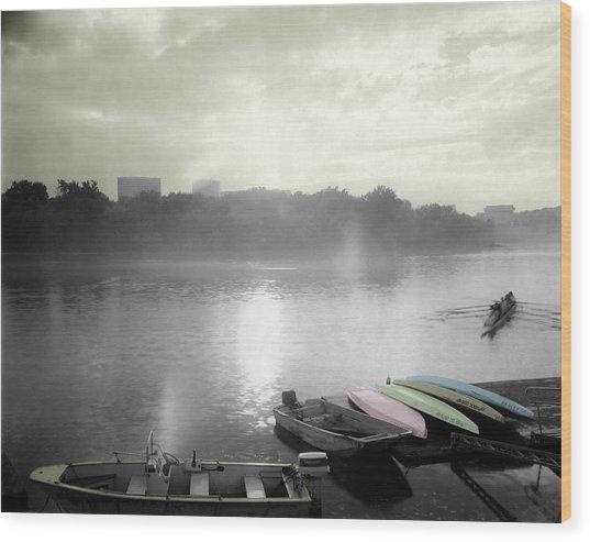 Georgetown Waterfront Wood Print