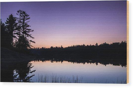 Georgian Bay Sunset Wood Print