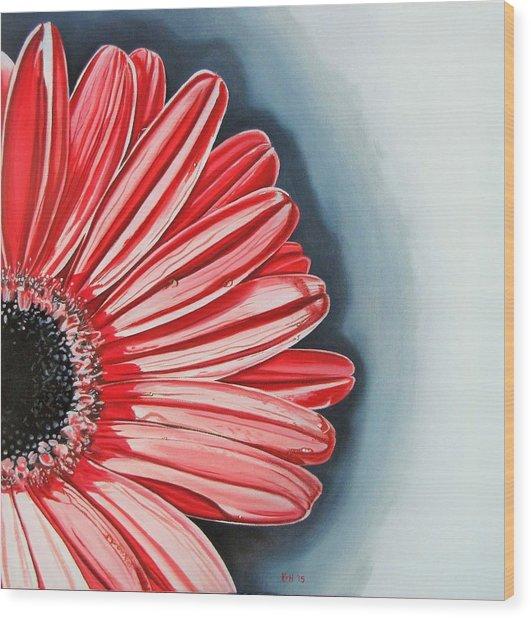 Gerber Daisy 2 Wood Print