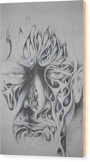 Ghost Wood Print by Moshfegh Rakhsha