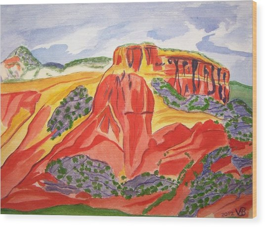 Ghost Ranch New Mexico Wood Print