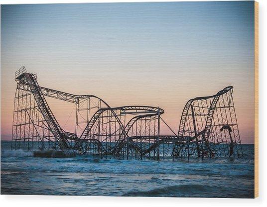 Giant Of The Sea Wood Print