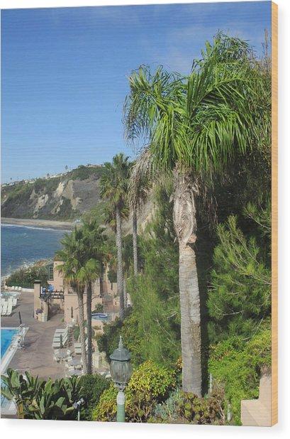 Giant Palm Wood Print