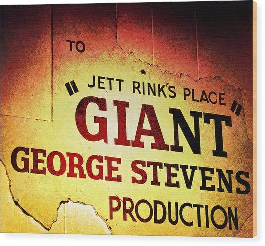 Giant Wood Print