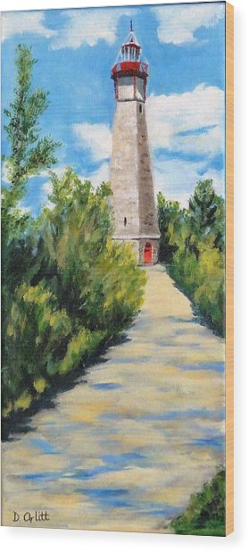 Gibraltar Point Lighthouse Wood Print