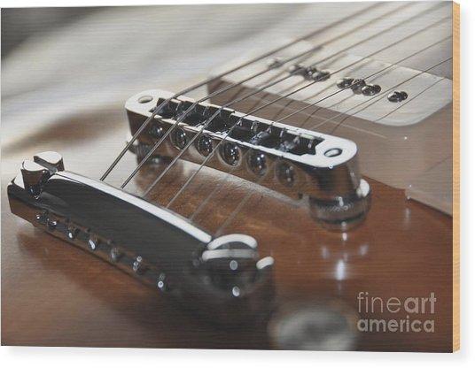 Gibson Wood Print