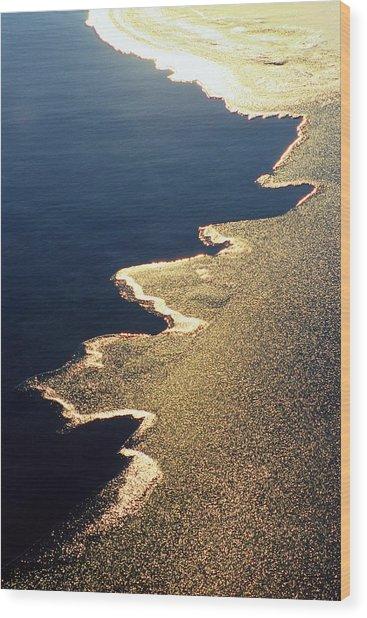Gilded Edge - Lake Geneva Wisconsin Wood Print