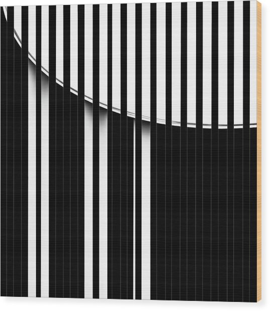 Gils' Piano Wood Print
