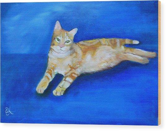 Ginger Wood Print by Fineartist Ellen