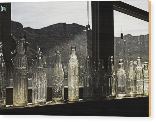 Wood Print featuring the photograph Glass In The Window  by James Sage