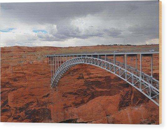 Glen Canyon Bridge Wood Print