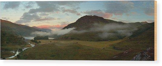 Glen Strathfarrar Wood Print
