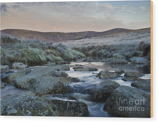 Glenmacnass 3 Wood Print by Michael David Murphy