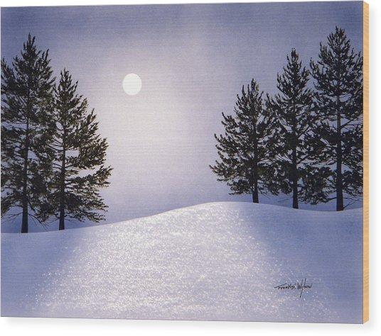 Glorious Night Wood Print
