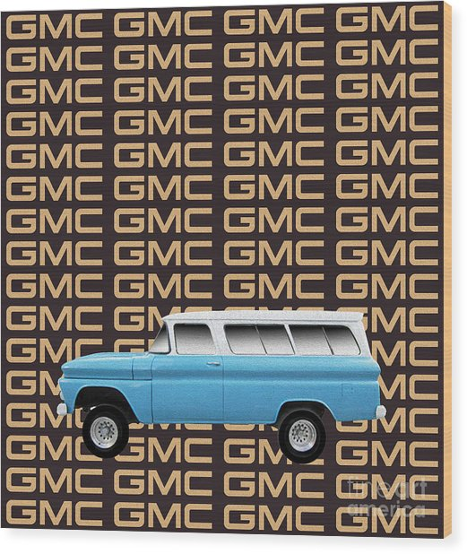 Gmc Tribute Wood Print